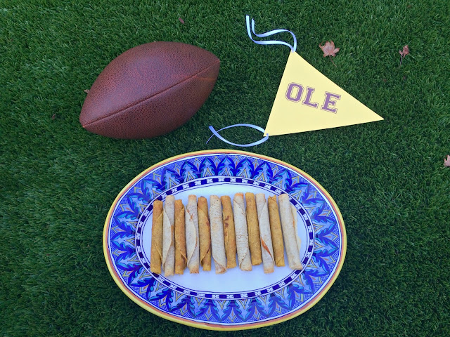 Timeout Taquitos - Easy Football Fiesta Food | www.jacolynmurphy.com