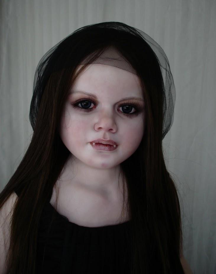 Gothic Girl dolls