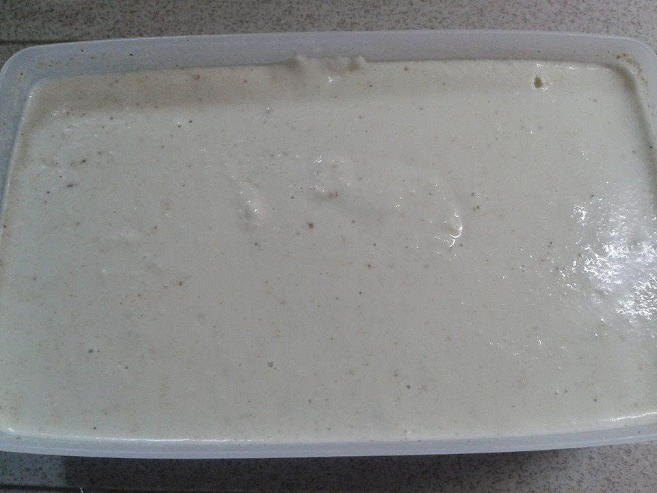bimby, gelato alla nocciola
