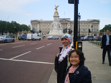 London visiting the Queen.