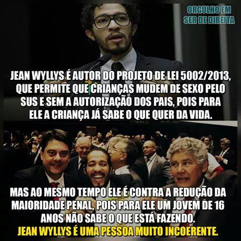 Além do meme: Jean Wyllys e o PL 5002/2013