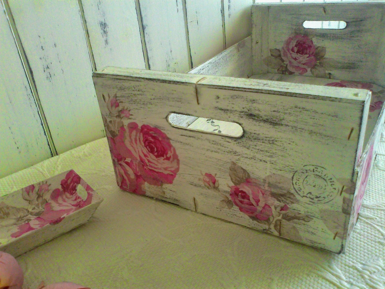 Manualidades el dintel rosa rosae - Dintel de madera ...
