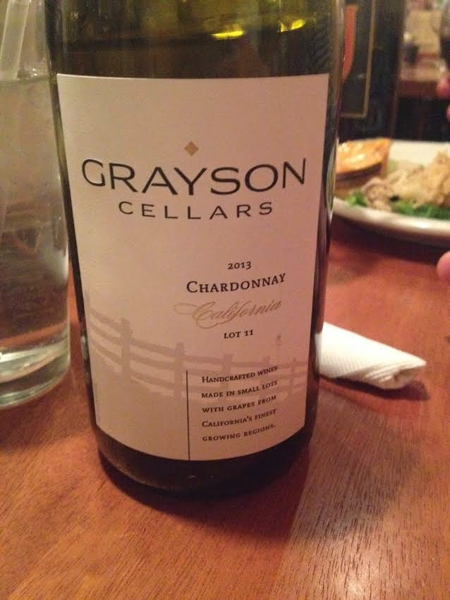 Along with the Cau0027lunghetta Pinot Grigio I also tried Graysonu0027s Cellars Chardonnay at Boudreauxu0027s Wine Wednesday Special on Wednesday January 28th. & Brookeu0027s Wine Blog: Tasting: Graysonu0027s Cellars Chardonnay