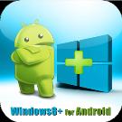 Windows8 / Windows 8 +Launcher v2.4.1 APK Android [Full] [Gratis]