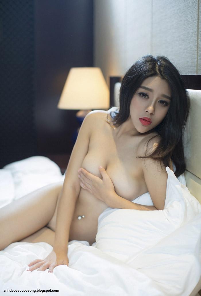 Ảnh khỏa thân siêu mẫu Hongkong Zhang Xu Fei