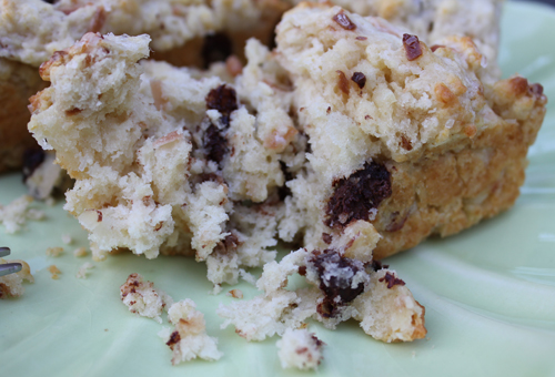 ... Cupcake?: Sweet Treats Saturday: Chocolate Coconut and Almond Scones