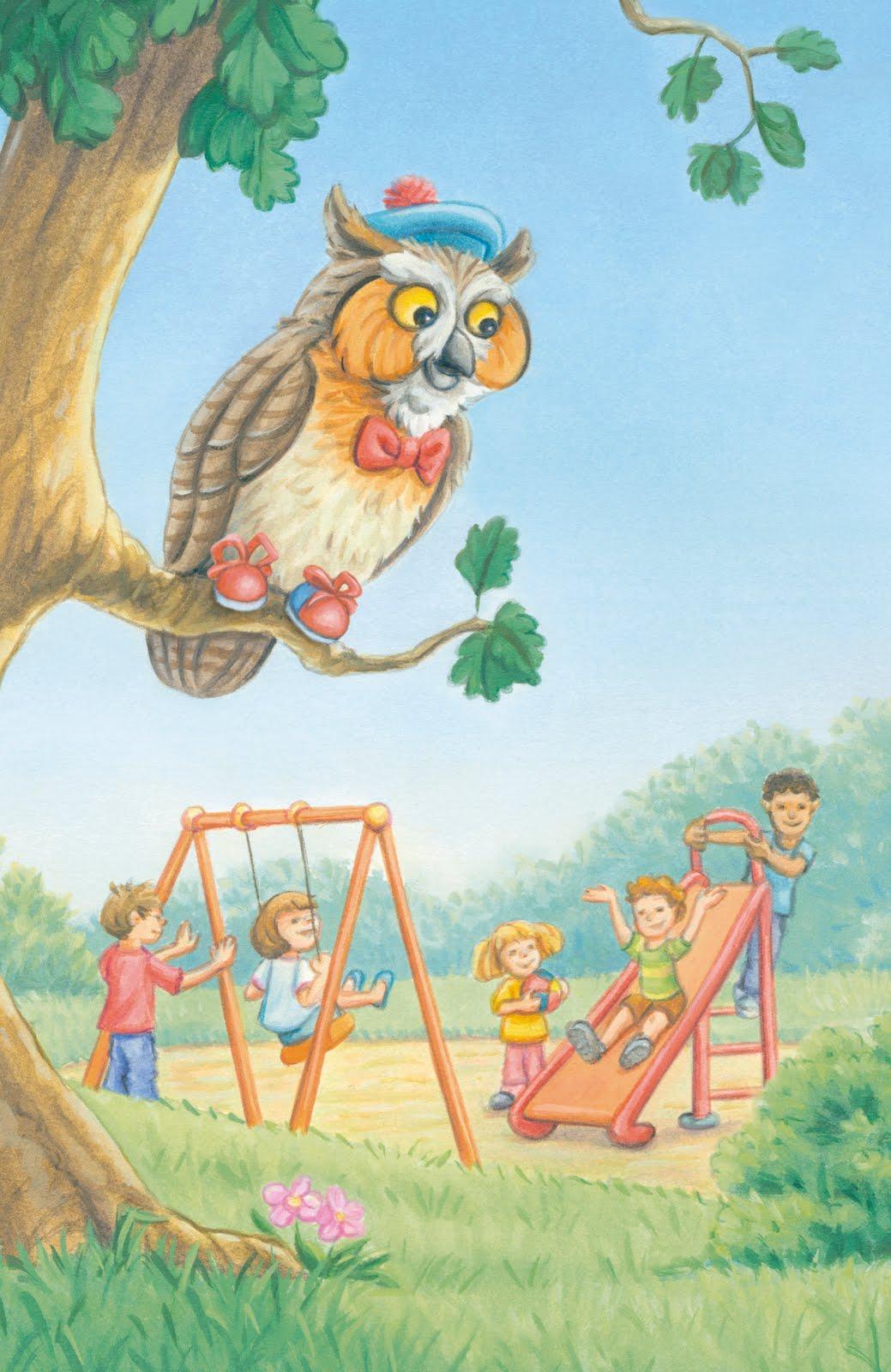 Hoot hoot said Albert owl