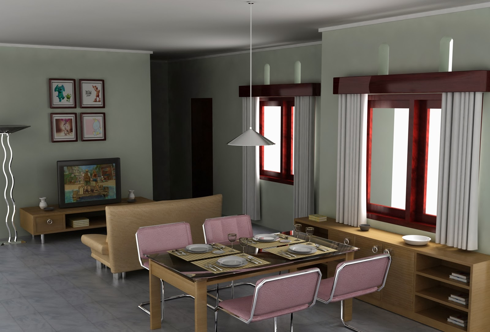 Foto interior rumah mungil 87