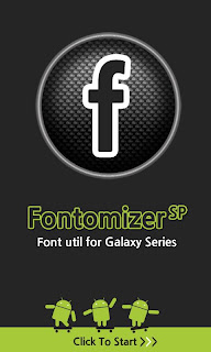 Font for Galaxy SP
