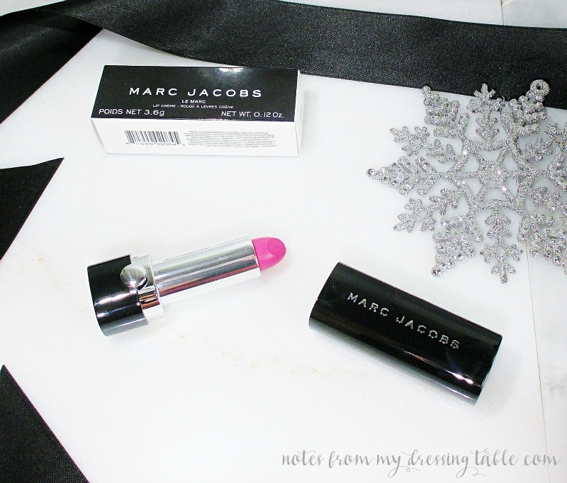 Marc Jacobs Lip Creme Lipstick notesfrommydressingtable.com