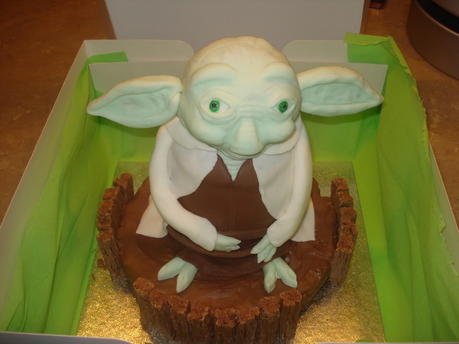 How To Make An Easy Yoda Cake