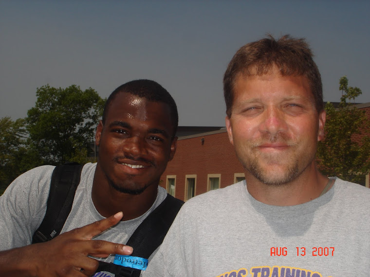 Meeting Adrian Peterson in Mankato