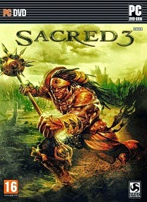 Sacred 3 PC Cover 2 Sacred 3 Orc of Thrones DLC RELOADED