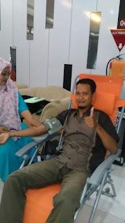 Membantu sesama dengan Donor Darah, OMC Pamekasan Donor Darah