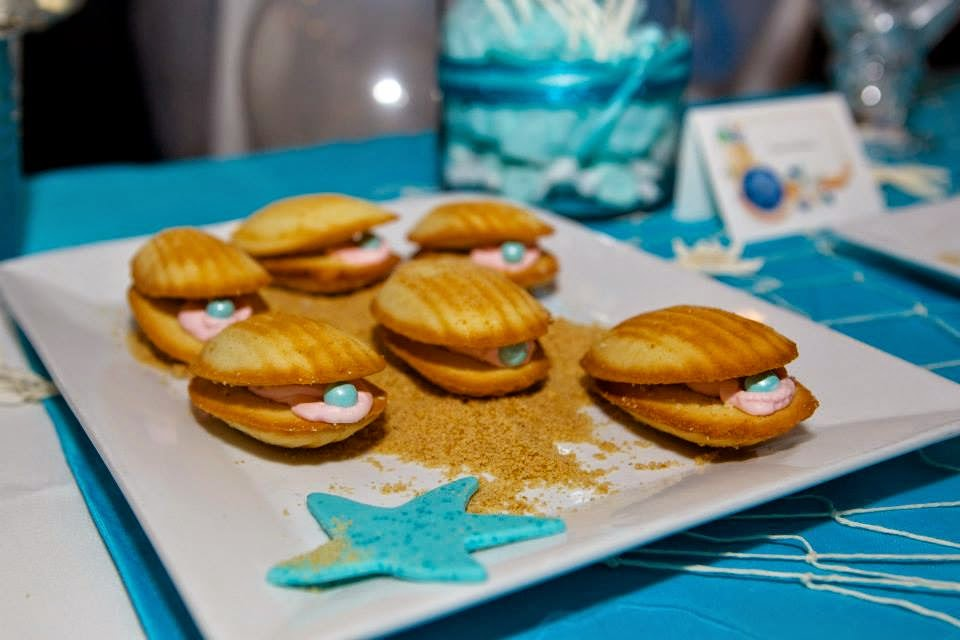 Madeline Clam Cookies