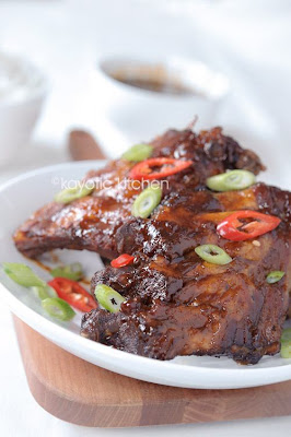 Slow Cooker Peppery Asian Ribs