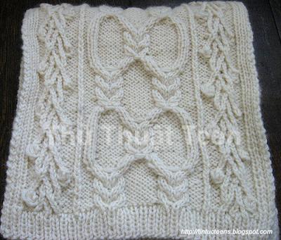 Cùng học cách đan khăn len kiểu Yuliya 2