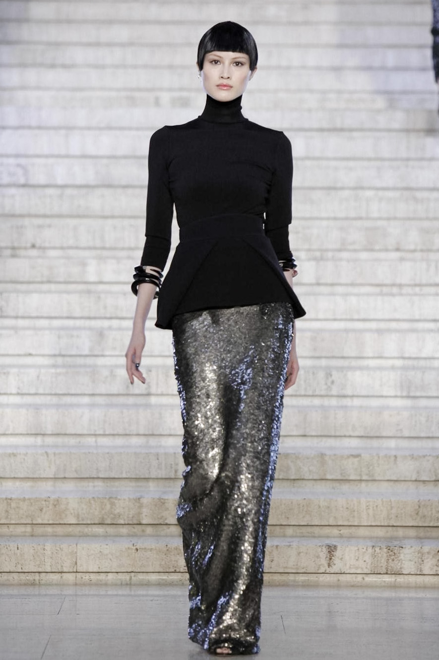 Antonio berardi fall 2012 1 parte cool chic style fashion Fashion style via antonio panizzi