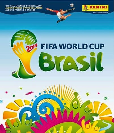 Copertina album Fifa World Cup Brasil 2014