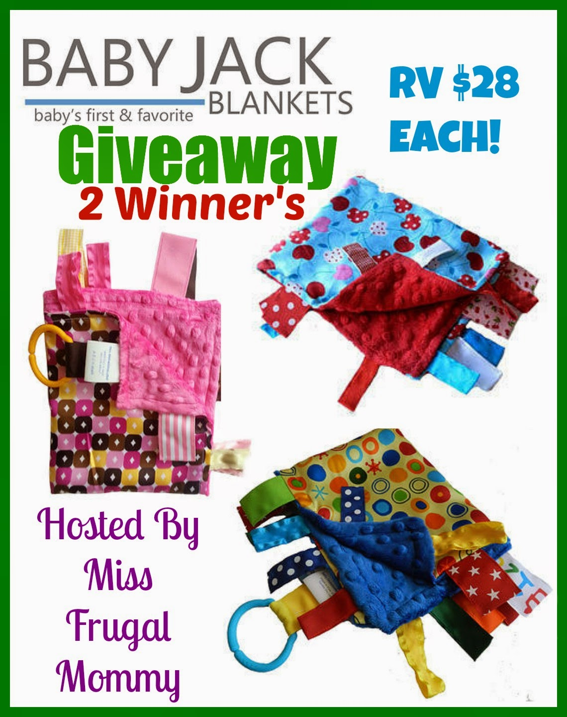 Baby Jack Blankets Giveaway