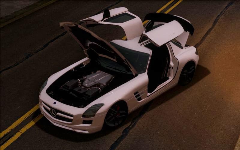Beyaz Mercedes Benz Yaması