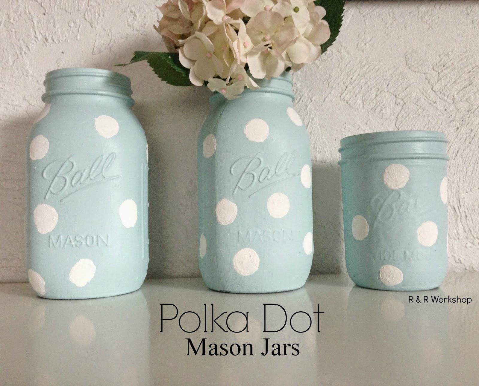 Painted Mason Jars R R Workshop Painted Mason Jar Ideas