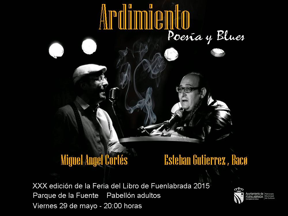 ARDIMIENTO, poesía&blues, en la Feria del Libro de Fuenlabrada