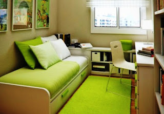 Green Dorm Room