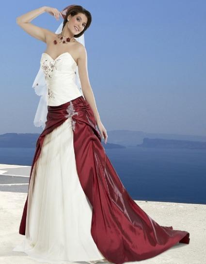 idal comme robe pour les mariages thme rouge ou blanc et rouge elle peut trs bien tre accompagn par des accessoires rouges comme bijoux et escarpins - Complicit Mariage Robe Cocktail