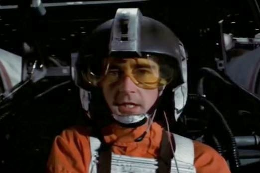 British actor Denis Lawson as Wedge Antilles in 'Star Wars'