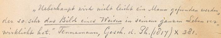 Citaten Spinoza : Wilhelm gottlieb tennemann korte laudatio op