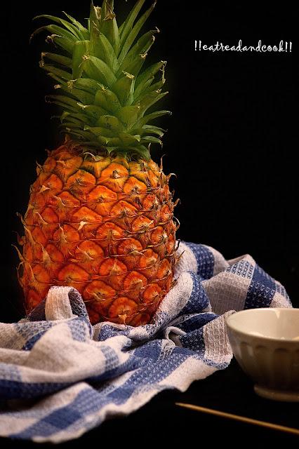 caramelized pineapples recipe