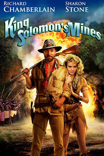Poster Of King Solomon's Mines 1985 Full Movie Download 300MB In Hindi English Dual Audio 480P Compressed Small Size Pc Movie
