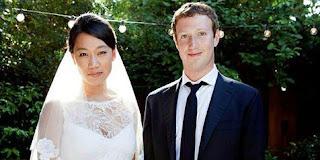 CEO Facebook Mark Zuckerberg Resmi Nikahi Priscilla Chan