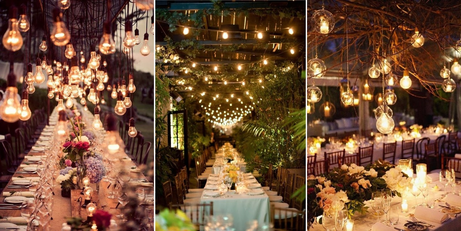 Wedding tent decoration steves decor decor vendor to put any branches mixed it with greenery and industrial light bulb to complete the look they dangled out of the ceiling magically junglespirit Image collections
