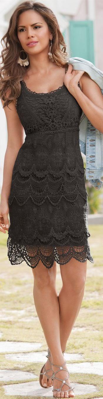 letnia koronkowa sukienka