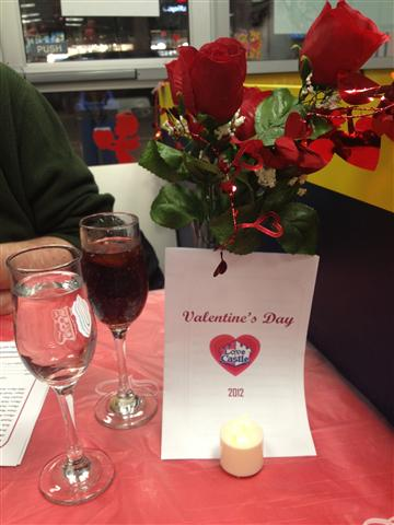 valentine's day at white castle, Ideas