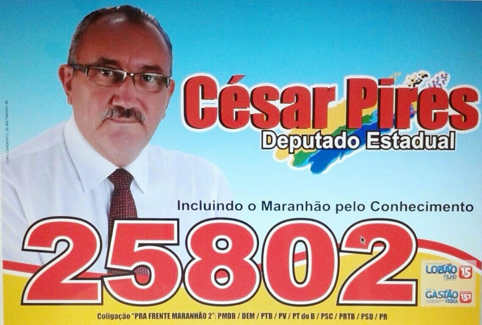 Cesar Pires - Deputado Estadual - 25802