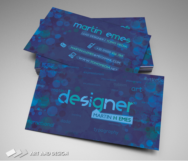 77) Business Card