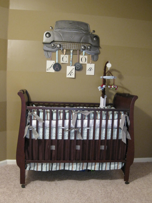 50 ideas for car themed boys rooms design dazzle for Baby boys room decoration