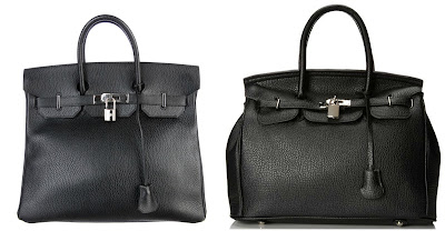 One of these is a real Birkin bag for $9.000 and the other is from MG Collection for $30. Can you guess the real Birkin? Click the links below to see if you are correct!