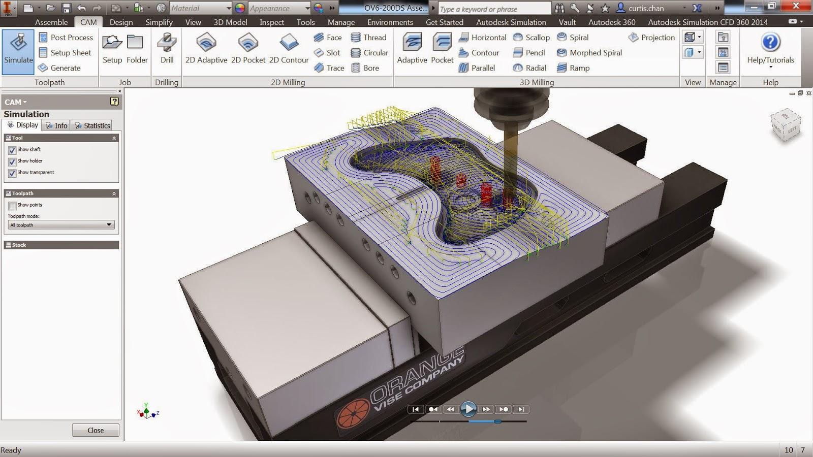 Autodesk inventor professional 2017 update 1 build 170  x86x64