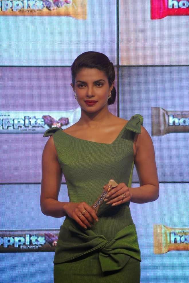 Priyanka Chopra at Hoppit Chocolate Launch Photos