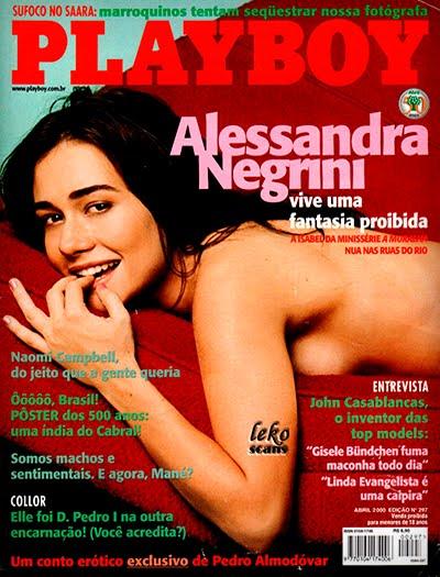 Alessandra Negrini pelada