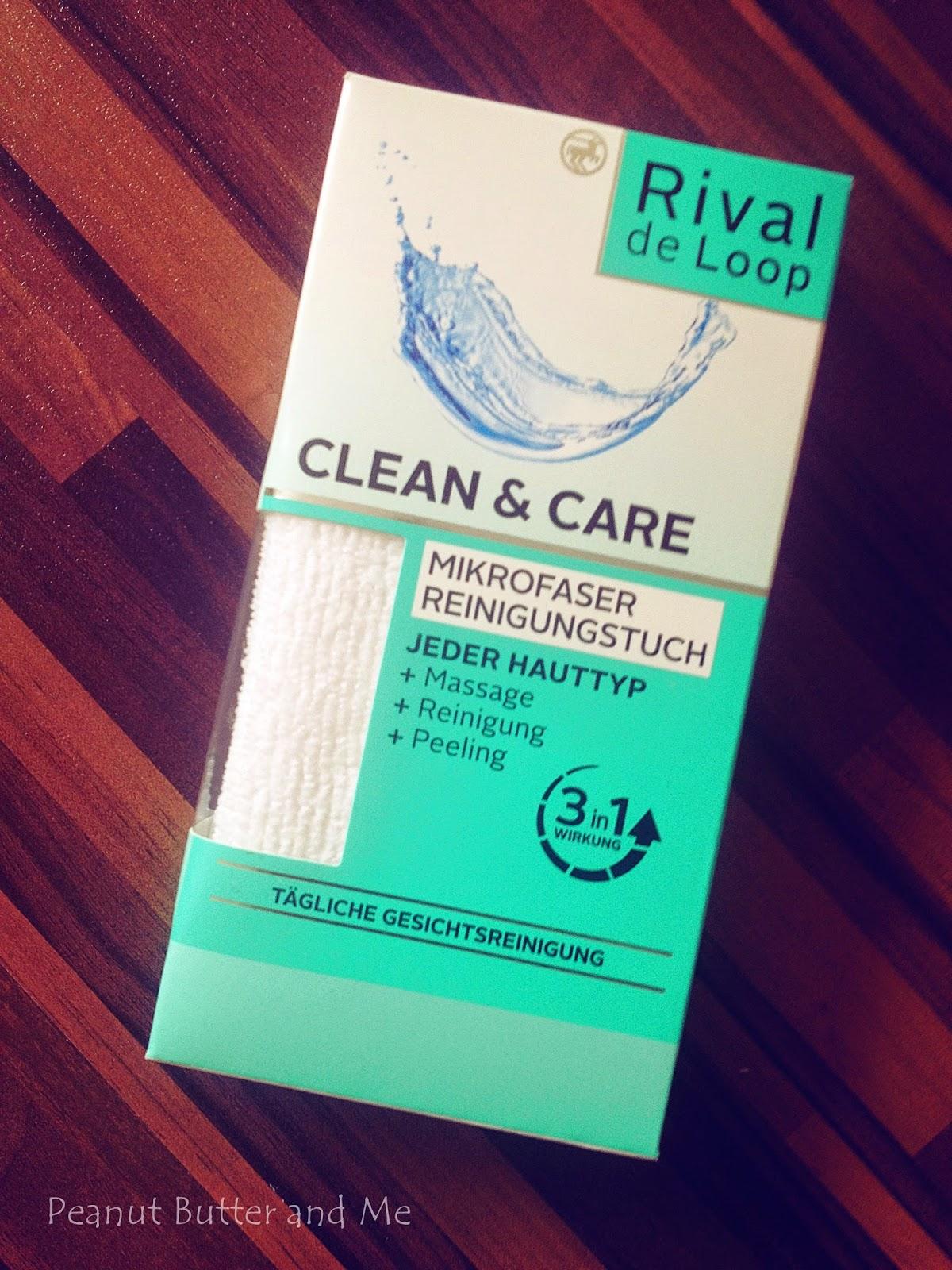 Rival de Loop szmatka muślinowa sciereczka do mycia twarzy