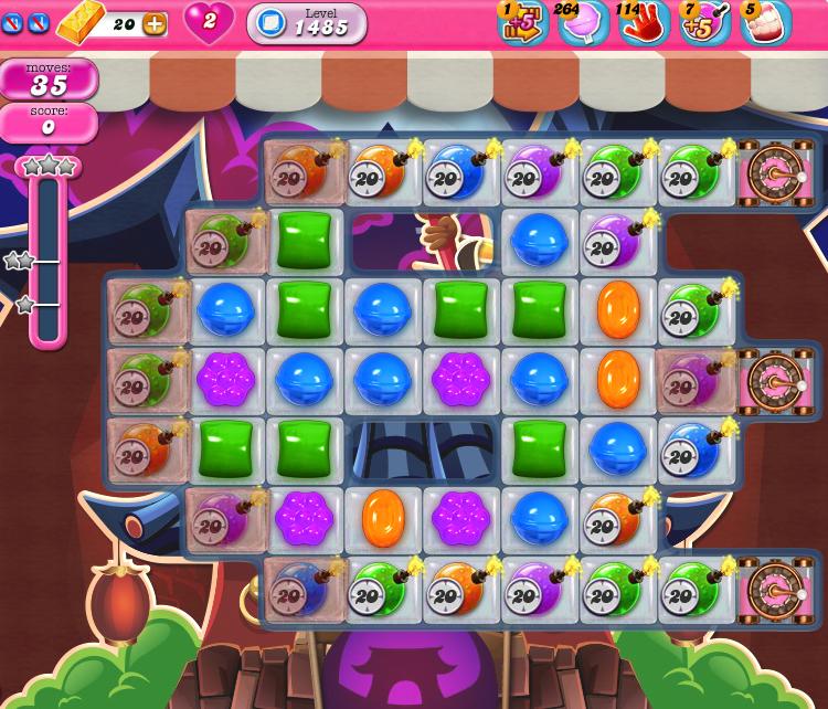 Candy Crush Saga 1485