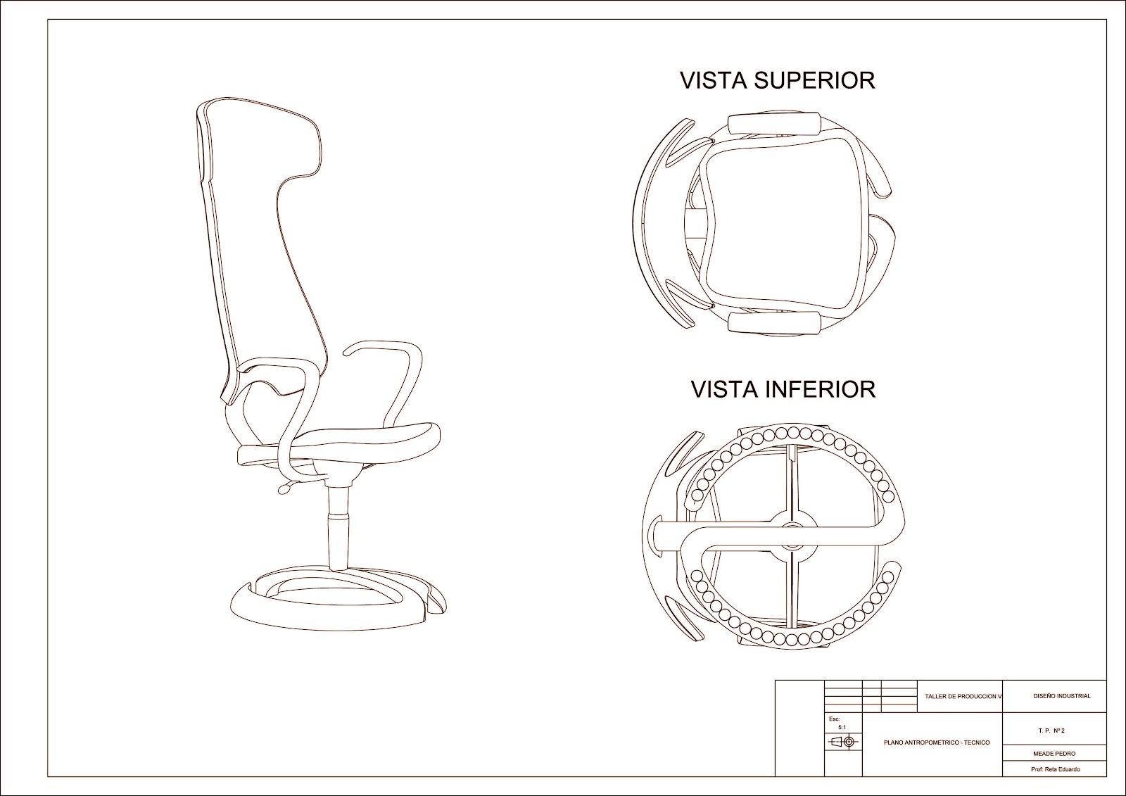 silla de oficina ergonomia