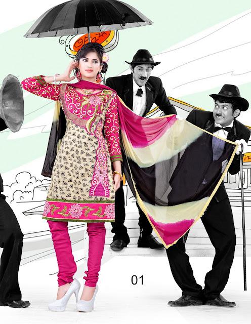Best Stylish Churidar Designer Salwar Kameez