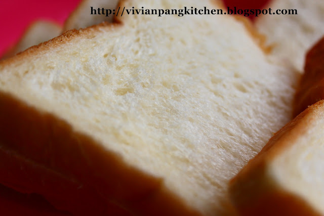 "... Pang Kitchen: ""QQ"" Glutinous Flour Loaf Bread/ Straight Dough M..."
