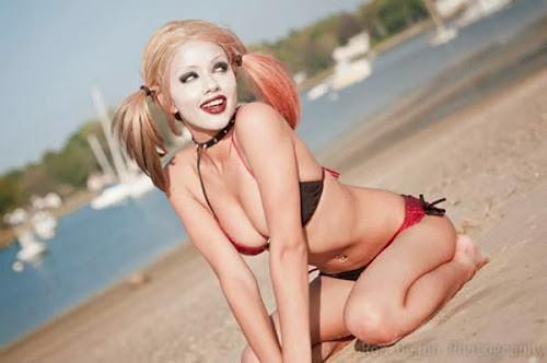 As 10 mais belas Harley Quinn da Internet